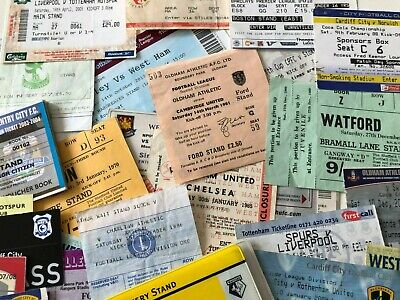£7.95 • Buy English Football League Teams League & Cup Match Tickets *List 3* Updated 22/08