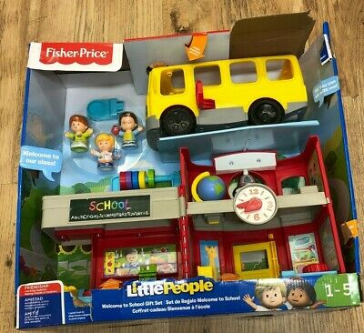 Fisher Price Little People Welcome To School Set - Rz31 • 20.65£