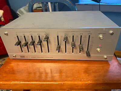 $ CDN49.98 • Buy Vintage BSR-EQ1 Stereo Equalizer 10 Frequency Slide Control