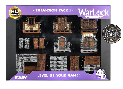 AU79.20 • Buy WarLock Tiles - EXPANSION BOX 1, Boxed & Painted. NEW & FREE POSTAGE