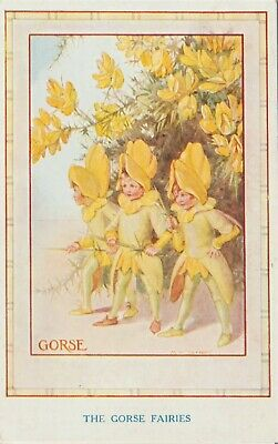 The Gorse Fairies By Margaret Tarrant. Art Card, Medici Society. • 5.54£