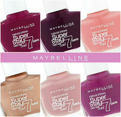 £2.35 • Buy Maybelline Superstay 7 Day Nail Polish Various Colours & 40-second Express