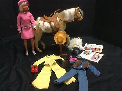$39 • Buy 1975 Kenner General Mills Nugget Golden Palomino& 1974 Dusty Doll & Accessories