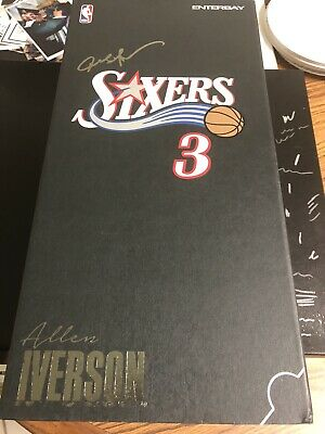 $599 • Buy Allen Iverson Enterbay Figure Masterpiece 1/6 Scale Brand New In Box