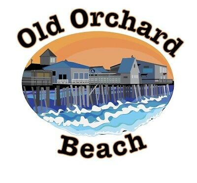 $4.99 • Buy Old Orchard Beach Maine Sticker OOB