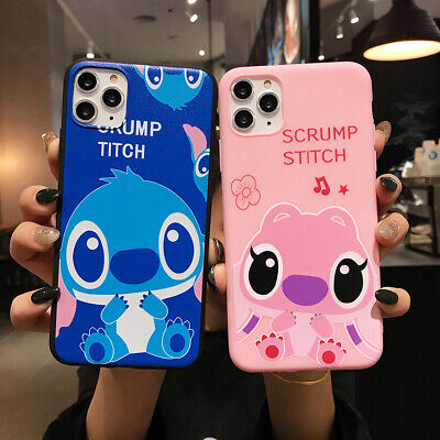 AU5.96 • Buy For Various Phone Hot Classic Anime Cute Stitch Cartoon Silicone Case Cover Skin
