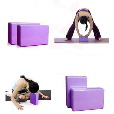 AU6.99 • Buy 1Pc Pilates Yoga Foaming Foam Brick Block Health Gym Exercise Fitness Sport Tool