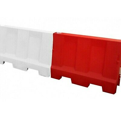 Evo Water Filled Safety Barrier 1.5m - Road Traffic Control  • 48£