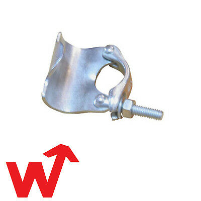 Scaffold Single Putlog Coupler-Bag Of 25-Drop Forged-Scaffolding Fittings-Clamps • 59£