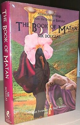 SIGNED, THE BOOK OF MATAN, AUTOMATIC WRITING, NIK DOUGLAS, OCCULT, 1977, 1st Ed • 77.77£