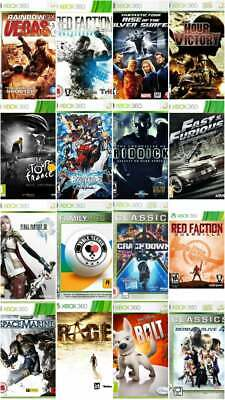 Xbox 360 Games - Buy 1 Or Bundle Up - Super Fast Delivery FB. • 3.99£