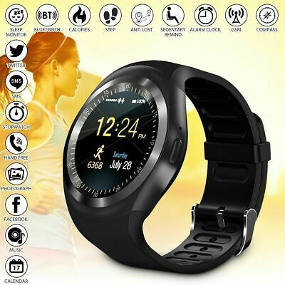Y1 Sport Smart Watch Sim Phone Bluetooth Apple & Android Compatible - Uk Stock • 16.99£