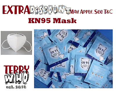 AU28.95 • Buy AU Stock KN95 Mask N95 Face 95% Protection Masks