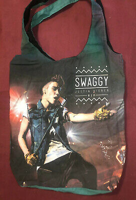 AU30 • Buy Justin Bieber Swaggy Reversable Tote Bag Tour Exclusive Merchandise Never Used 2