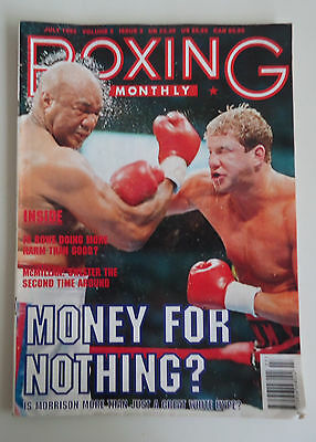 £5.35 • Buy Boxing Monthly Magazine *July 1993 *George Foreman & Tommy Morrison Cover