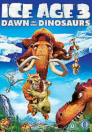 Ice Age 3 - Dawn Of The Dinosaurs (DVD Freepost Very Good Condition * • 1.80£