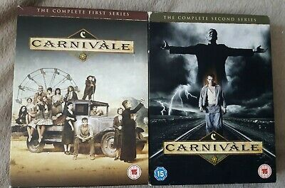 CARNIVALE Complete Collection, Season 1 And 2, Series, UK REGION 2 DVD Box Set • 14.99£