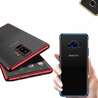 $ CDN3.96 • Buy Ultra Slim Shockproof Case For Samsung Galaxy S8 S9 Luxury Silicone Clear Cover