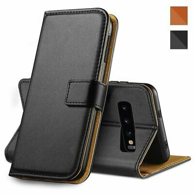 $ CDN5.63 • Buy Magnetic Flip Wallet Case For Samsung Galaxy S10 Plus S9+ S8 A50 Leather Cover