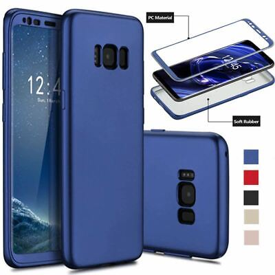 $ CDN4.31 • Buy ShockProof Thin Case For Samsung Galaxy S7 Edge S8 Plus Hybrid 360 TPU Cover