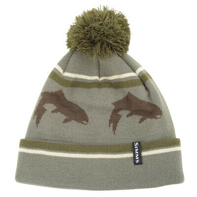 £17.95 • Buy Simms Fly Fishing Big Hole Trout Pom Tassel Beanie Cap / Hat -  Color - NEW!