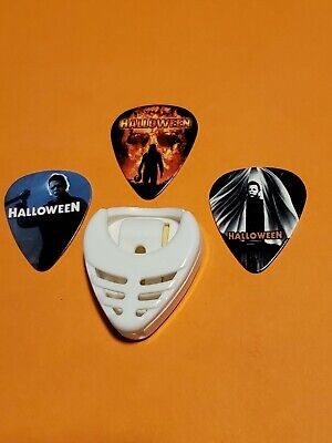$ CDN14.99 • Buy DIY 3 Piece Haloween Guitar Pick Lot With Pick Holder