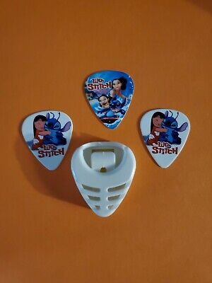 $ CDN14.99 • Buy DIY 3 Piece Lilo Guitar Pick Lot With Pick Holder