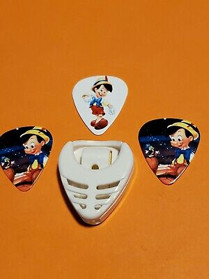 $ CDN14.99 • Buy DIY 3 Piece Pinocchio Guitar Pick Lot With Pick Holder