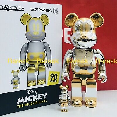 $1366.99 • Buy Medicom Be@rbrick Disney X Sorayama 2G Future Mickey Mouse 400% + 100% Bearbrick