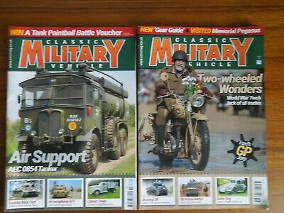 Classic Military Vehicles Magazine Issues 220 September & 221 October 2019 • 5£