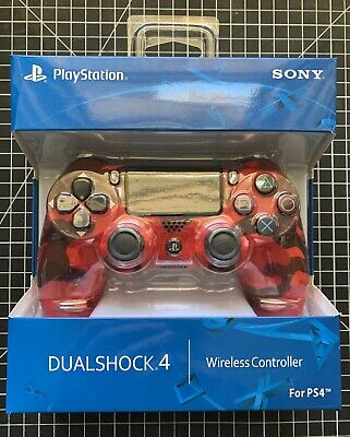 AU99 • Buy Sony PlayStation Dualshock 4 Controller (Camo Red) / PS4 Controller