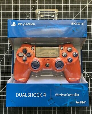 AU99 • Buy Sony PlayStation Dualshock 4 Controller (Sunset Orange) / PS4 Controller