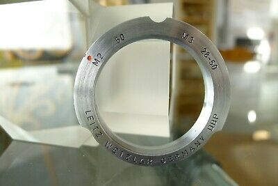 $ CDN96.66 • Buy Leitz Leica M2 50 M3 28-50 LTM Screw To M Lens Bayonet Adapter M2 M3 M8 M9