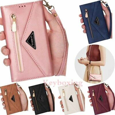 $ CDN16 • Buy For Samsung S20 S10 S9 S8 S7 A51 A71 Note9 Zipper Wallet Flip Leather Case Cover