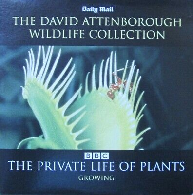 The David Attenborough Wildlife Collection Dvd Private Life Of Plants Growing • 0.99£