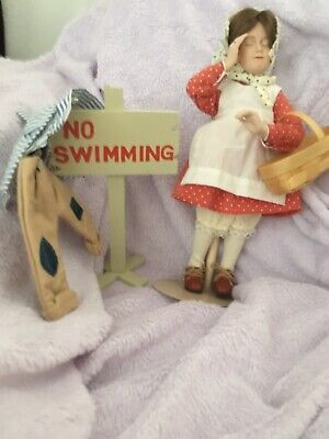 $10.50 • Buy Norman Rockwell No Swimming Doll
