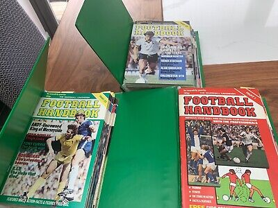 Marshall Cavendish Football Handbook Volumes 1 2 3 Full Set Collection  • 25£