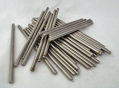 £3.78 • Buy 4mm X 100mm 304 Stainless Rod For Handle Making Knife Scales Pins Bushcraft