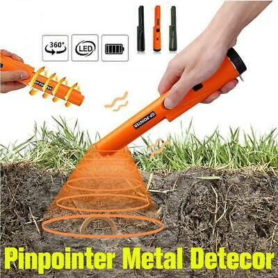 Waterproof Metal Detector Pinpointer Probe Gold Hunter Finder Search A9A2 • 9.73£