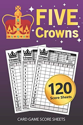 AU11.10 • Buy Planet 1 Score Sheet Book-5 Crowns Card Game Score Sheet (US IMPORT) BOOK NEW
