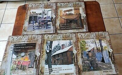 $30 • Buy  A Simple Life Magazines Lot Of Five 2014 All Seasons Plus A SPECIAL ISSUE