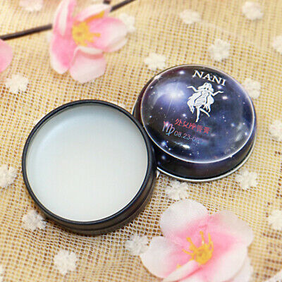 Solid Perfume Portable 12 Signs Women Men Deodorant Non-alcoholic Charm Balm • 2.48£