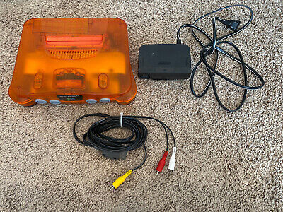 $ CDN116.42 • Buy N64 ORANGE - Console Only. Great / Classic Nintendo Product!