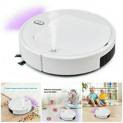 UV Sterilization Sprayer Robot Smart Sweeping Vacuum Cleaner Floor Dust Sweeper • 29.63£