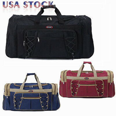 $19.95 • Buy 26  Waterproof Overnight Tote Travel Gym Sport Bag Duffle Carry On Luggage