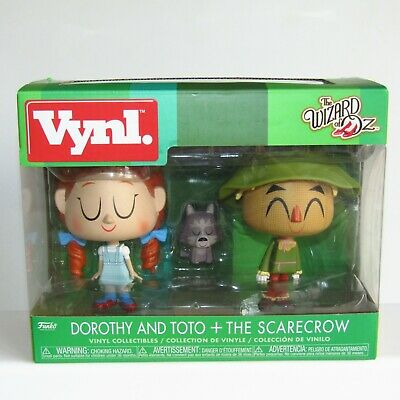 £16.95 • Buy Funko Vynl ~ The Wizard Of Oz 3 PACK  ~ Dorothy ~ Toto The Dog And The Scarecrow