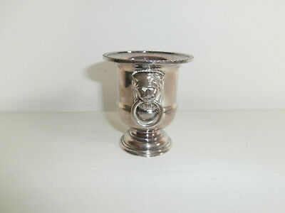 Viners Of Sheffield England Silver Plated Mini Champagne Ice Bucket / Urn Rare • 8.49£