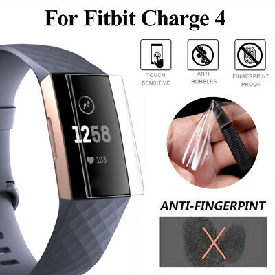 $ CDN10.25 • Buy Film Hydrogel Film Full Cover Screen Protector For Fitbit Charge 4 Smart Band