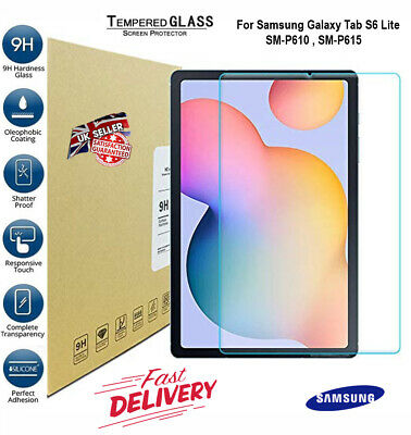 $ CDN6.07 • Buy 9H Tempered Glass Screen Protector For Samsung Galaxy Tab S6 Lite P610/P615 2020