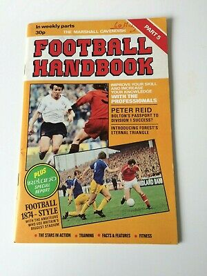 The Marshal Cavendish Football Handbook Part 5 • 3.50£